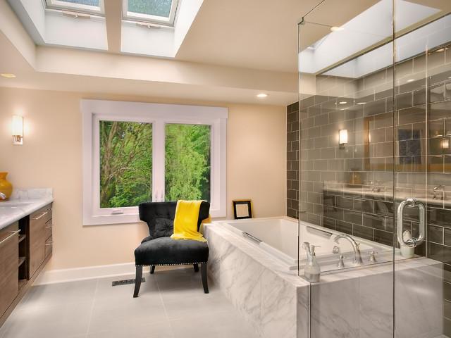 Modern Master bathroom contemporary-bathroom