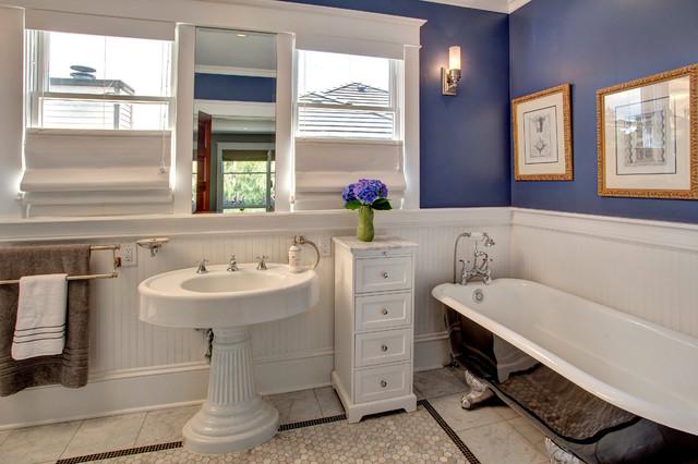Bellevue House Craftsman Bathroom Seattle By