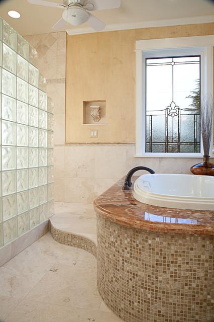 Bellevue Master Bath Traditional Bathroom Seattle By Provanti Designs Inc