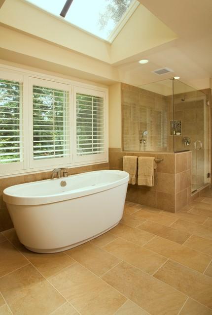 Bellevue Northwest Contemporary Master Bath
