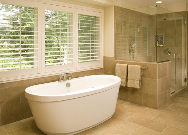 Bellevue Northwest Contemporary Master Bath contemporary-bathroom