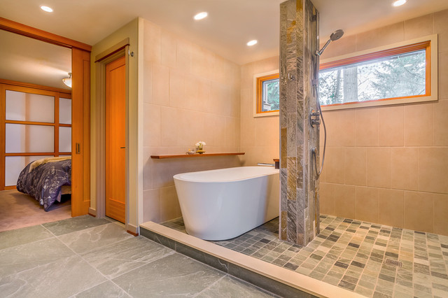 Bellevue Renovation Contemporary Bathroom Seattle