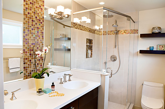 Bellevue Residence Master Bathroom Traditional