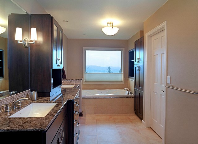 Bellevue Residence Contemporary Bathroom Seattle
