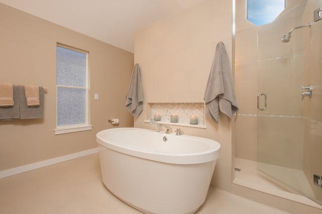 Bellevue Somerset Remodel Transitional Bathroom Seattle By Kayron Brewer Ckd Cbd
