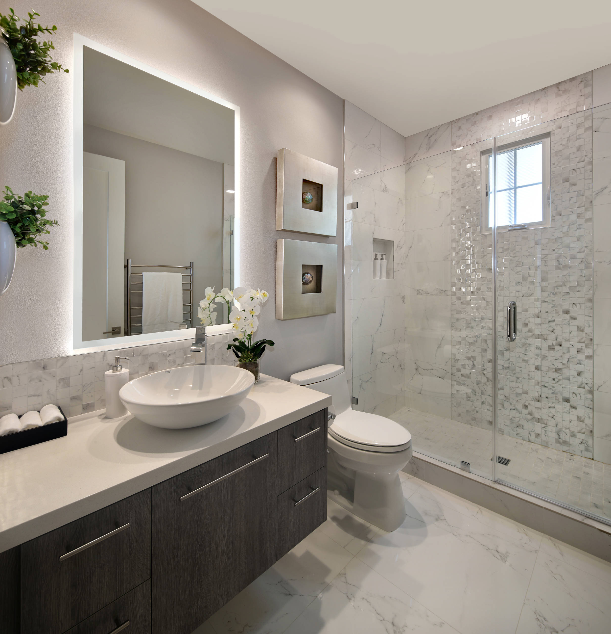 75 Beautiful Small Modern Bathroom Pictures Ideas October 2020 Houzz