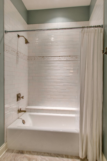 Bellwether Alcove Bath By Kohler Traditional Bathroom