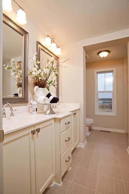 Belmont quot model home bathroom traditional bathroom minneapolis