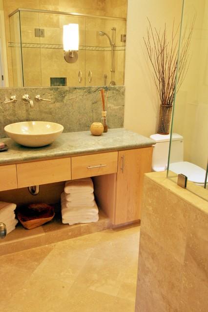 Ben Lomond, CA modern-bathroom