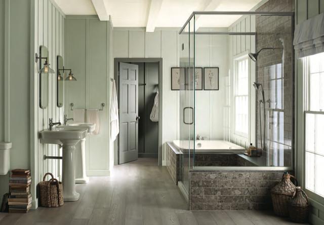 Benjamin moore paint colors traditional bathroom for Bathroom decor orlando