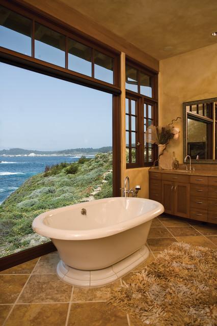 Bennett  Residence - Carmel ca. beach-style-bathroom