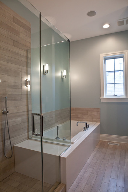 Benson Residence contemporary bathroom
