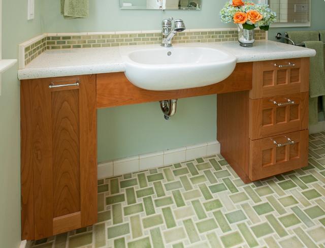 Berkeley traditional universal design bathroom for Bathroom design san francisco