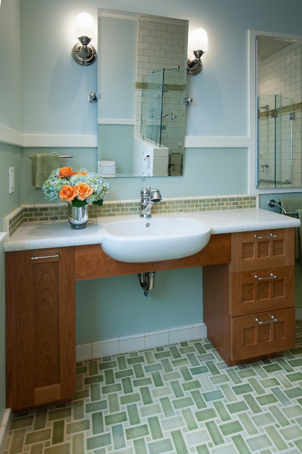 Berkeley Traditional Universal Design Bathroom