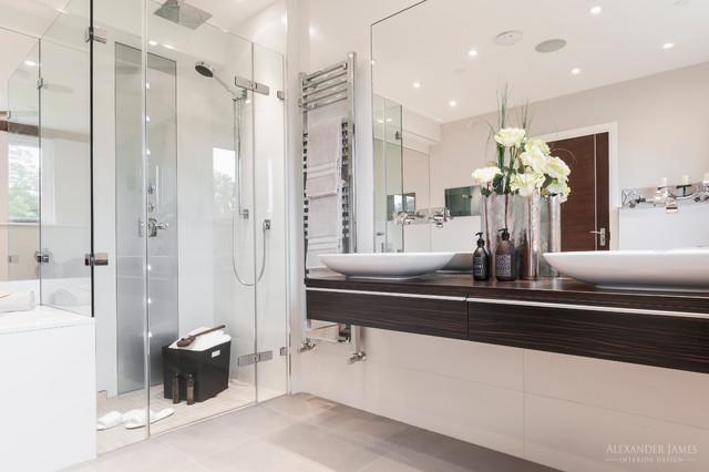 The Astors Cookham Berkshire Uk Contemporary Bathroom London By Alexander James Interiors