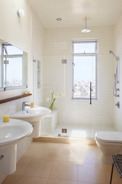 Bernal Heights Private Residence transitional-bathroom