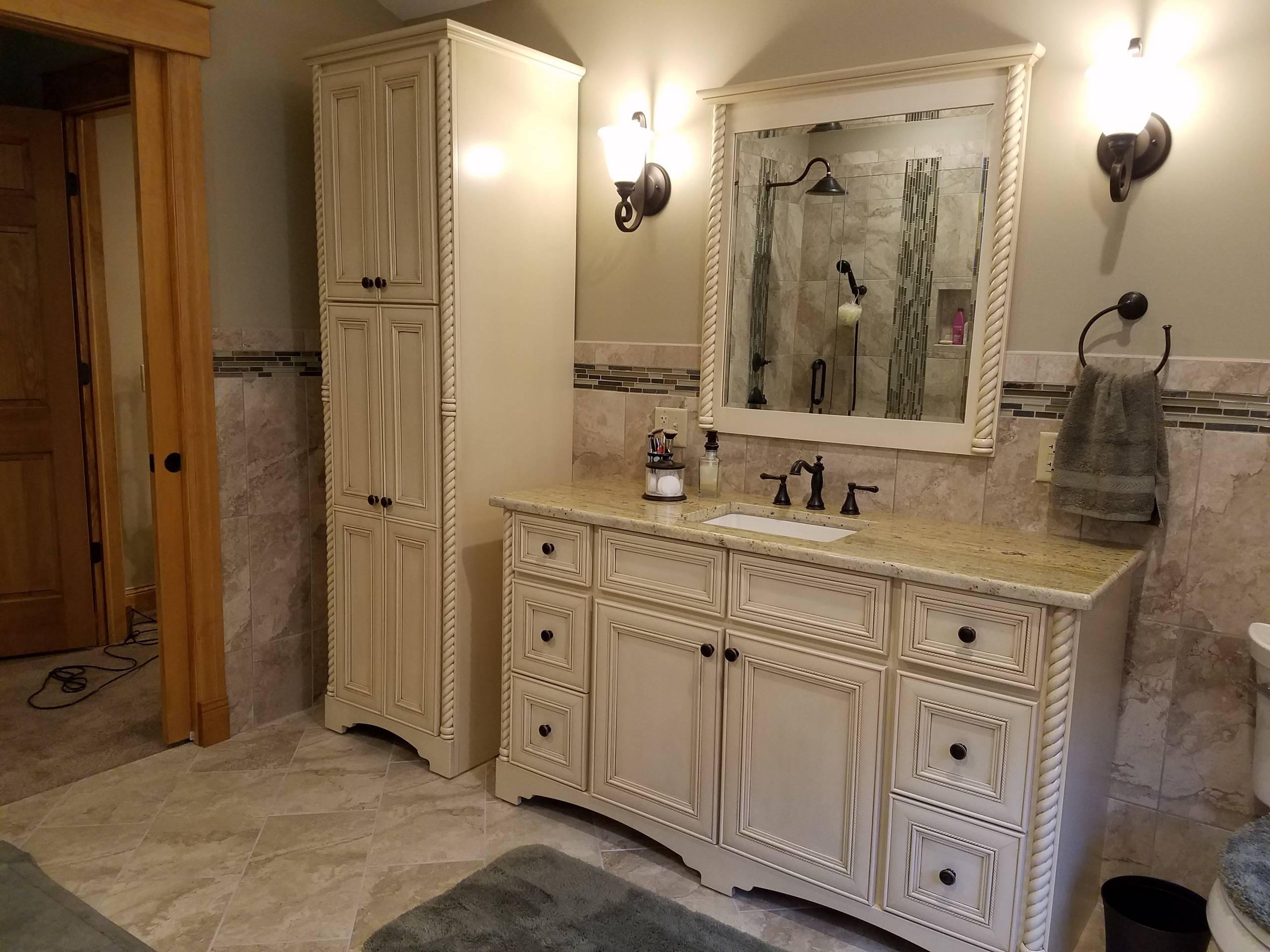 Bertch Vanity Linen Cabinet And Mirror, Bertch Bathroom Cabinets Reviews
