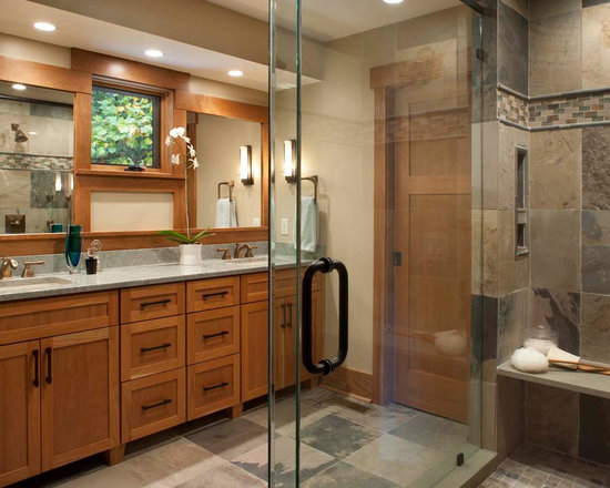 Craftsman Style Master Bathroom : Save email