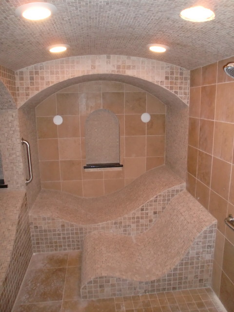 Bespoke steam room traditional bathroom st louis - Bath shower room ...