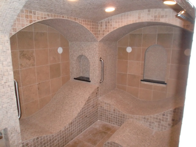 Bespoke Steam Room Traditional Bathroom St Louis
