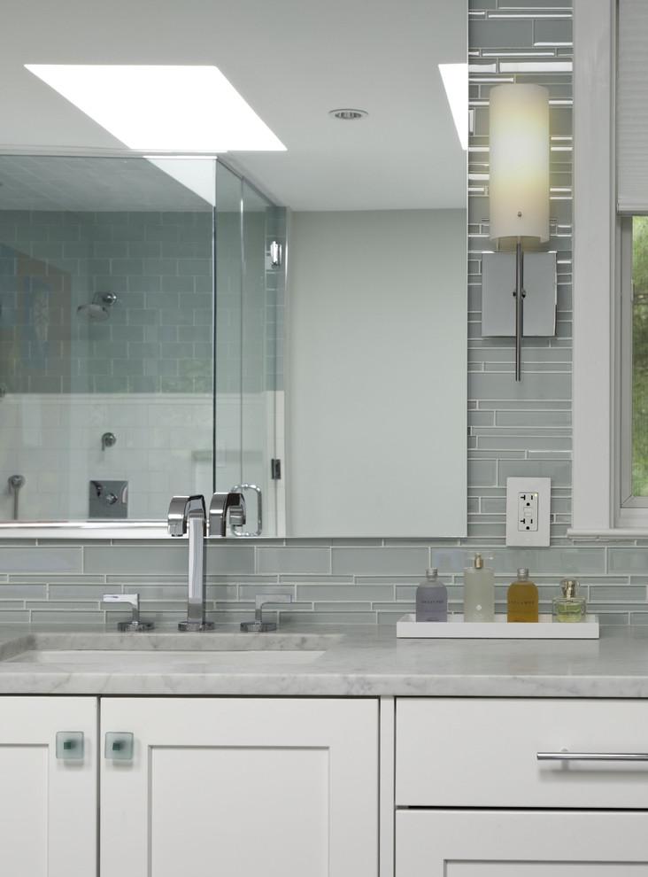Example of a classic bathroom design in DC Metro