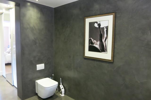 beton cire designer walk in shower and bathroom trendy. Black Bedroom Furniture Sets. Home Design Ideas