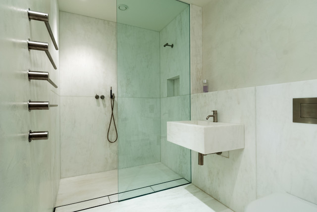 Example Of A Minimalist Bathroom Design In London