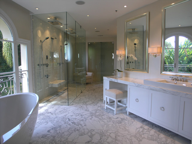 Beverly hills contemporary contemporary bathroom other metro by weinberg design Modern bathroom north hollywood