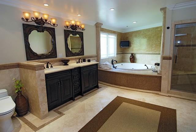 Beverly Hills Master bathroom remodeling eclectic-bathroom