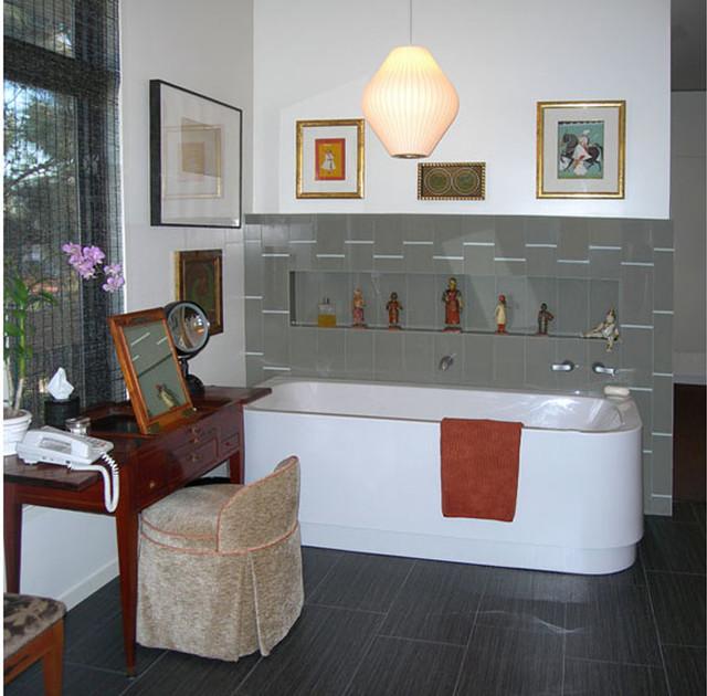 Beverly Hills Penthouse modern-bathroom