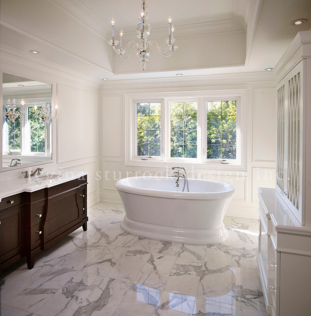 Beyond the blue print transitional bathroom toronto for Bathroom decor regina