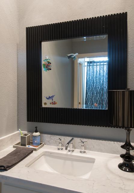 Bianco Carrara Marble Bathrooms Modern Bathroom