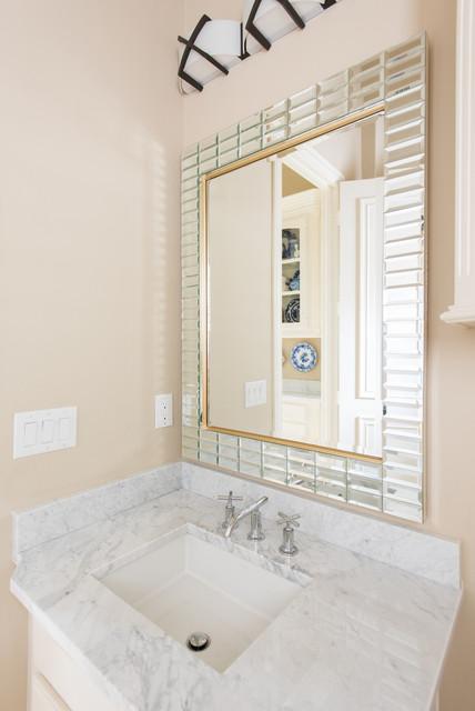 Bianco Carrara Marble Bathrooms Modern Bathroom Dallas By Levantina Usa