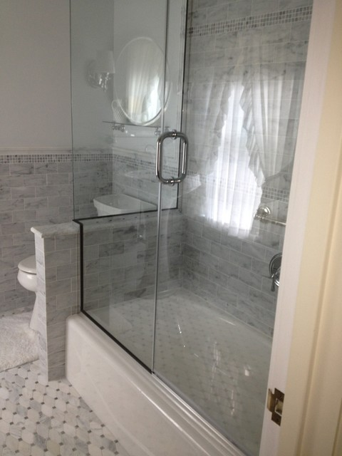 carrara tile bathroom bianco carrara marble 12243