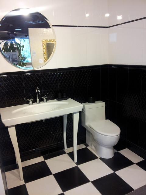 Badkamermeubel 956759357177 besides Natural Stone Bathrooms additionally 1956 Ladies And Gents Toilet Layout in addition Salle A Manger L e Luxe Suspendue additionally 389702173990721982. on powder room interior design ideas
