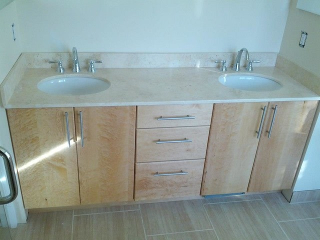 Birds Eye Maple Vanity contemporary bathroom. Birds Eye Maple Vanity   Contemporary   Bathroom   DC Metro   by
