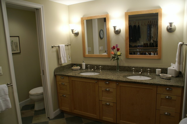 Birmingham Mi Master Closet Bath Combination Contemporary Bathroom Detroit By