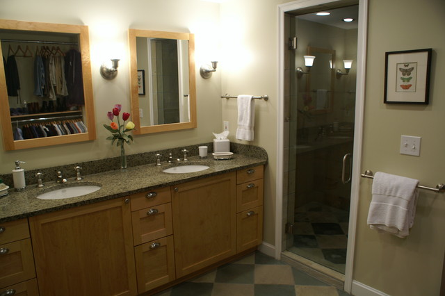 Birmingham Mi Master Closet Bath Combination Contemporary Bathroom Detroit By Proximity