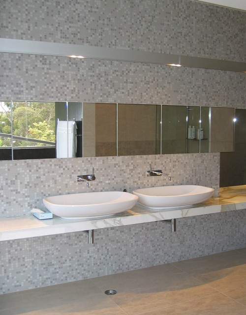Bisazza collection contemporary bathroom auckland by tile space new zealand Bathroom tiles ideas nz