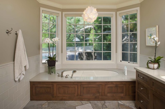 Bishop Master Tub eclectic bathroom