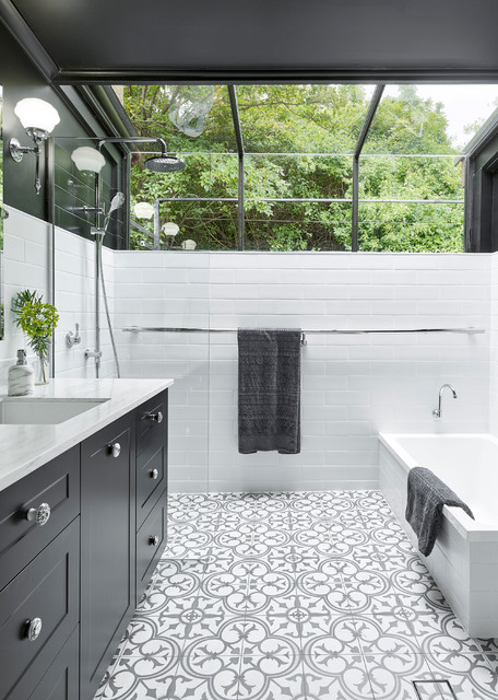 Chapman avenue transitional bathroom adelaide by for Architecture firms adelaide