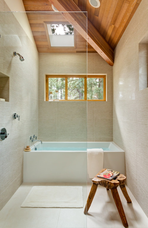 Lovely happenings wet room for Bathrooms for small areas