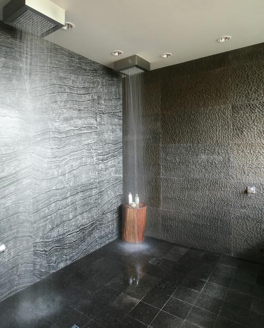 Black Granite Striated Wood Grain Marble Serengeti