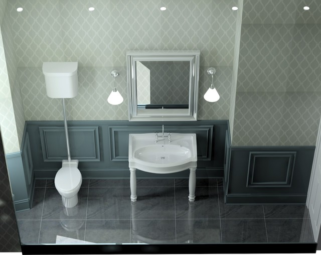 Cool Porcelanosa Glasgow Silver Bathroom Traditional With Bathroom Feature
