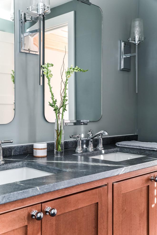 Black Rock - Modern - Bathroom - Portland Maine - by Tyler ...