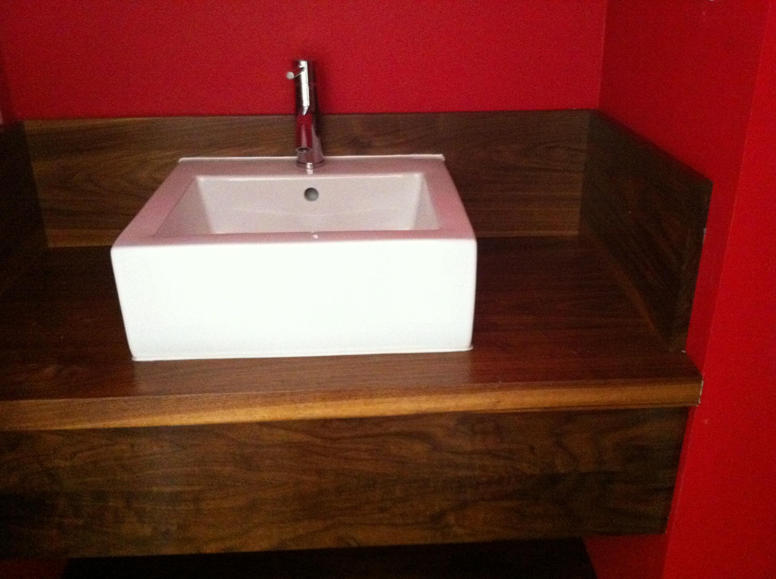 Black Walnut sink top