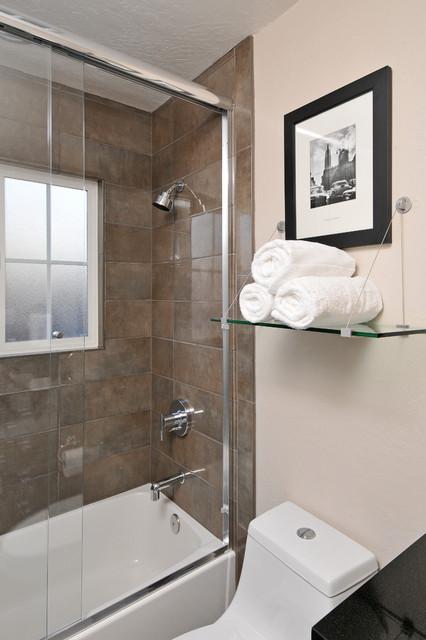 Blacow Guest Bath contemporary-bathroom