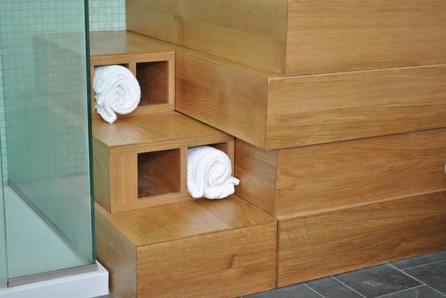Blair Barn House modern-bathroom