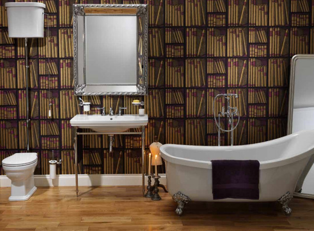Bloomsbury project at bagnodesign glasgow arts crafts - Arts and crafts style bathroom design ...