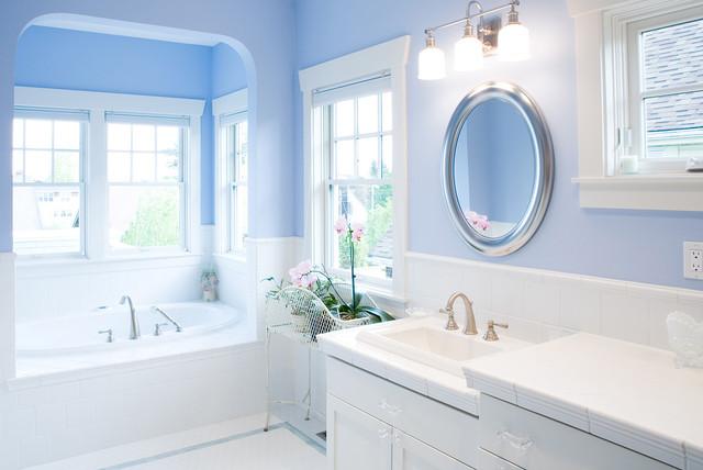 Blue Bathroom Mesmerizing Blue Bathrooms